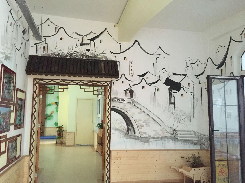 墙体彩绘 手绘墙