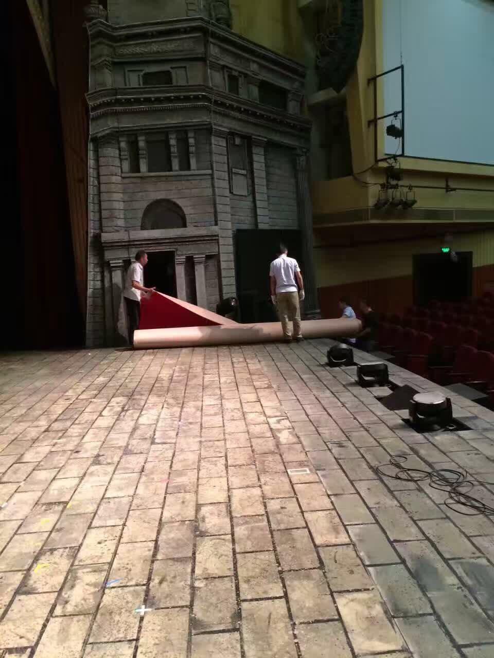 云峰剧院舞台搭建