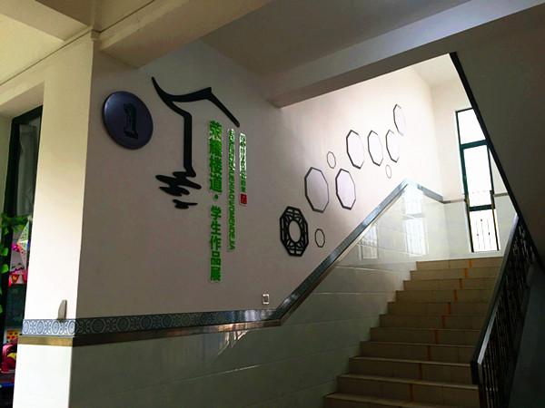 校园走廊文化墙找设计 优选策亿文化